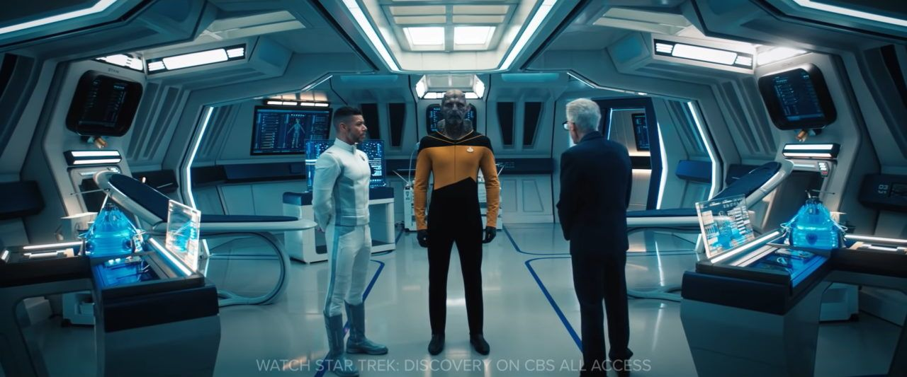Preview For The Next Episode Of Star Trek Discovery Reveals A Surprising Crossover Trekmovie Com In 2020 Star Trek Trek Stars