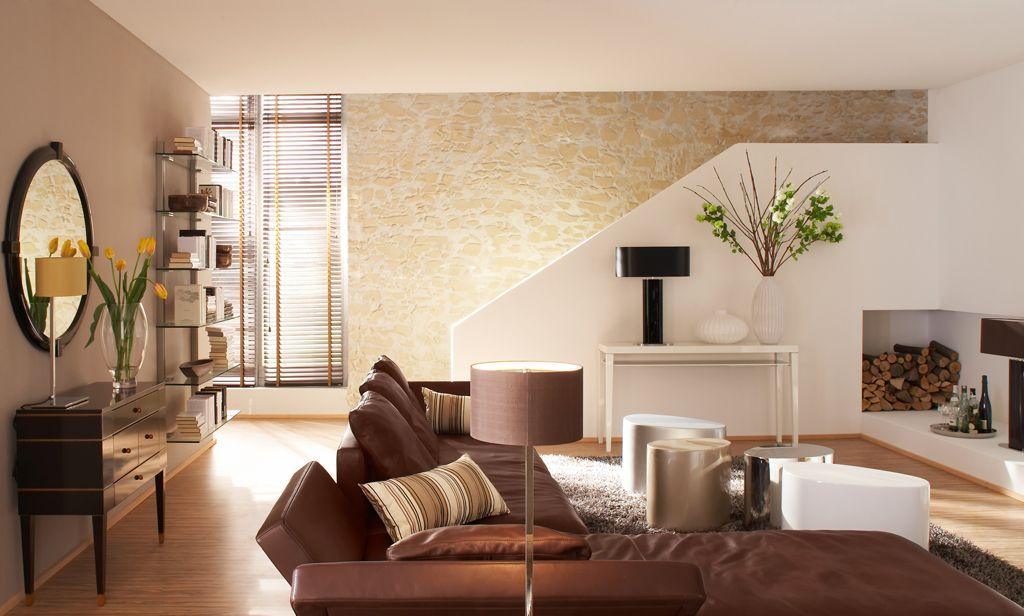Marsalla ocker im Stiegenbereich Stonewalls mediterran Pinterest - wohnzimmer mediterran gestalten
