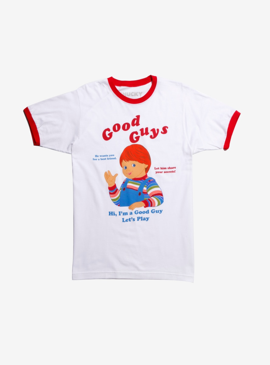 31e20a64 Child's Play Chucky Good Guys Ringer T-Shirt in 2019 | Products ...
