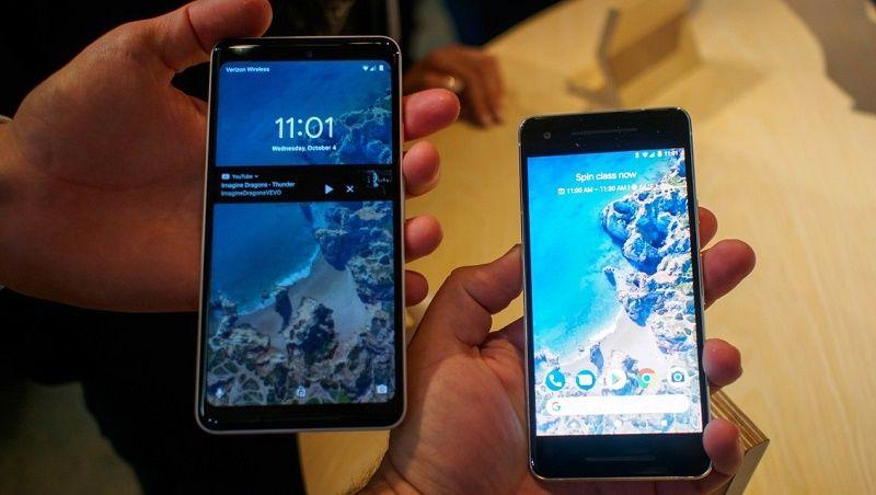 مقارنة بين تصميم ومواصفات هواتف قوقل Pixel 2 و Pixel 2 Xl من يستحق الإقتناء نيوتك New Tech Blackberry Phone Blackberry Electronic Products