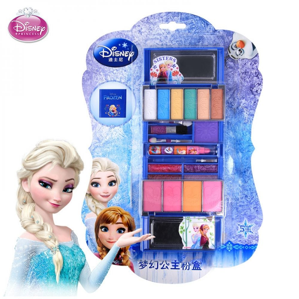 Girls Disney Frozen Cosmetics Safety Non Toxic Snow Ice Princess Cosmetic Box Set Performed Home Lipstick Toy Gift In 2020 Toddler Girl Toys Baby Girl Toys Toys Gift