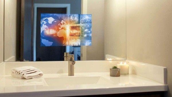 Spiegel Fernseher Im Bad Vor Und Nachteile Einrichtungstipps Dekoration Ideen 2018 Einrichtungstipps Diy Badezimmerspiegel Badezimmer Einrichtung