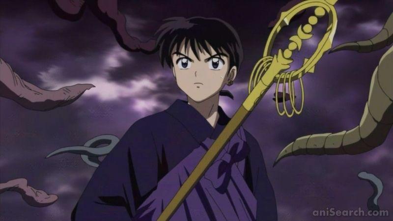 Miroku | Miroku, Inuyasha, Cute anime boy