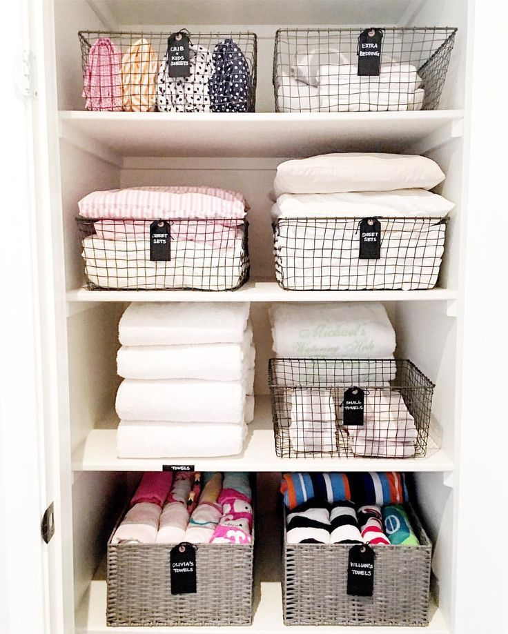 "NEAT Method ® on Instagram: ""And 2016's #3 goes to this lovely linen closet! #towelenvy"""