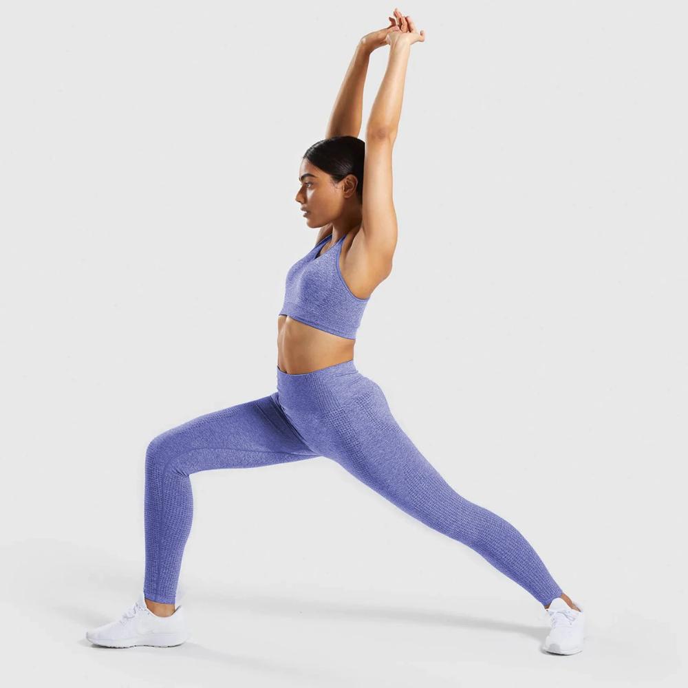 Tights Padded Push-up Sports Bra + Seamless Yoga Leggings Set - $20.95 – Excelsior #yogaset #athleis...