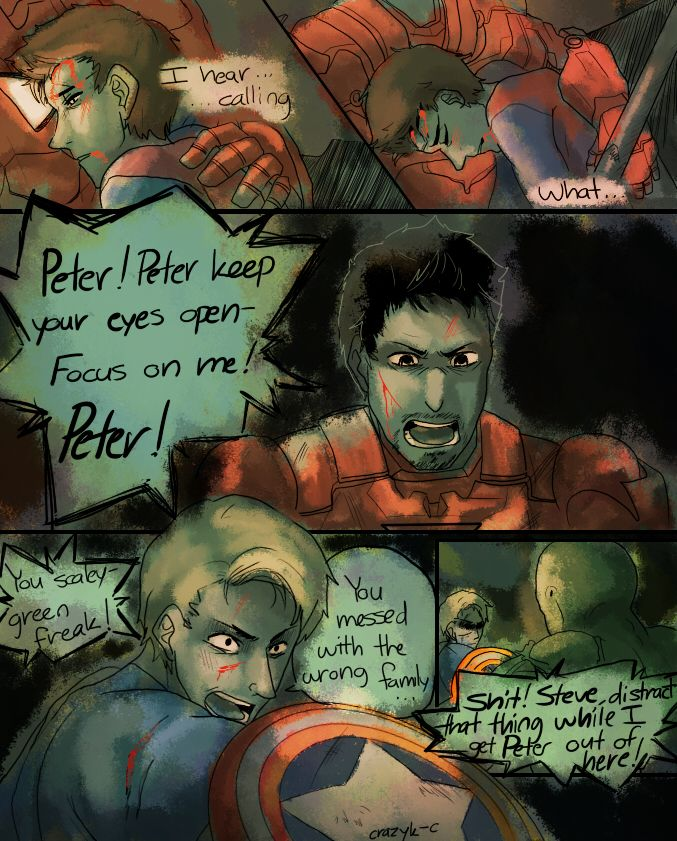 dreamerchaos666 requested a picture in which Peter | marvel