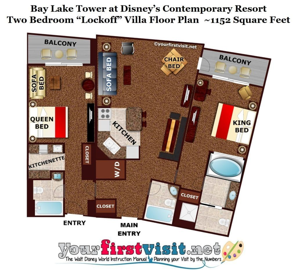 Theming And Accommodations At Bay Lake Tower At Disney S Contemporary Resort Bay Lake Tower Disney Contemporary Resort Bay Lake