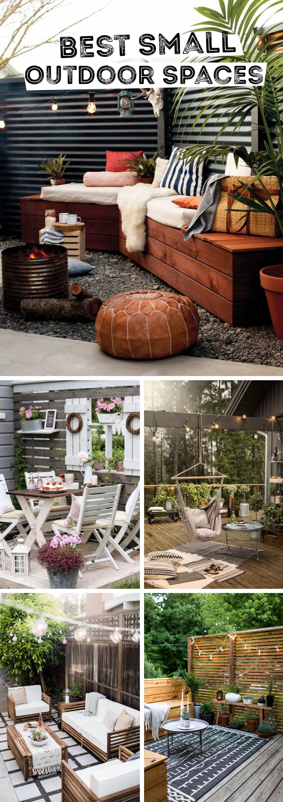 14 Brilliant Small Outdoor Space Design Ideas That Will Totally Awe Inspire You Small Outdoor Spaces Outdoor Patio Decor Small Outdoor Patios