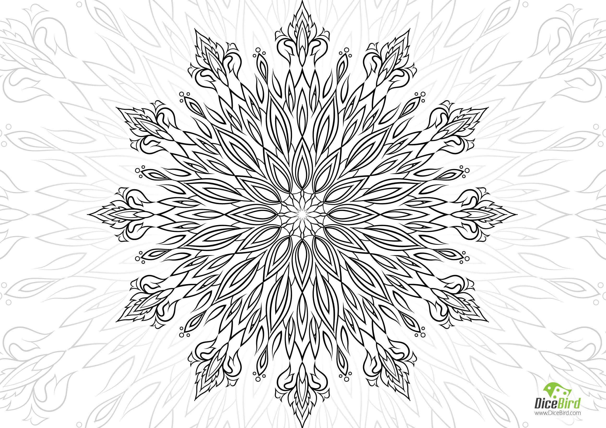 Heaven's Gate adult coloring pages free printable