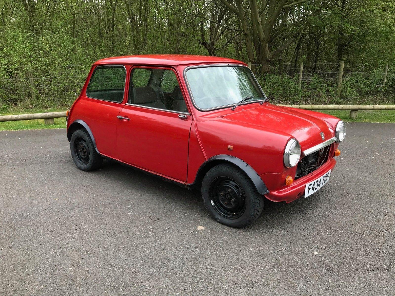eBay: 1988 Austin Mini Mayfair Red Small Project Runs Drives