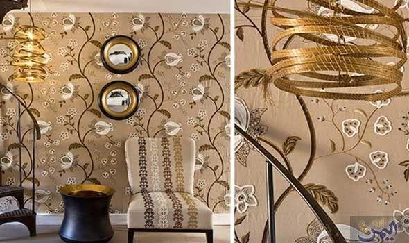 أجمل تصاميم ورق جدران لربيع وصيف 2016 Modern Victorian Interior Design Inspiration Design Inspiration