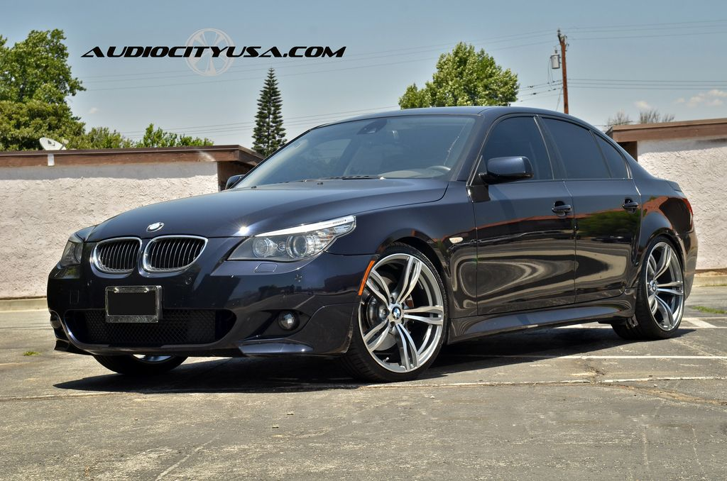 Bmw E60 5 Series Rides On F10 M5 Replica Wheels Autoevolution