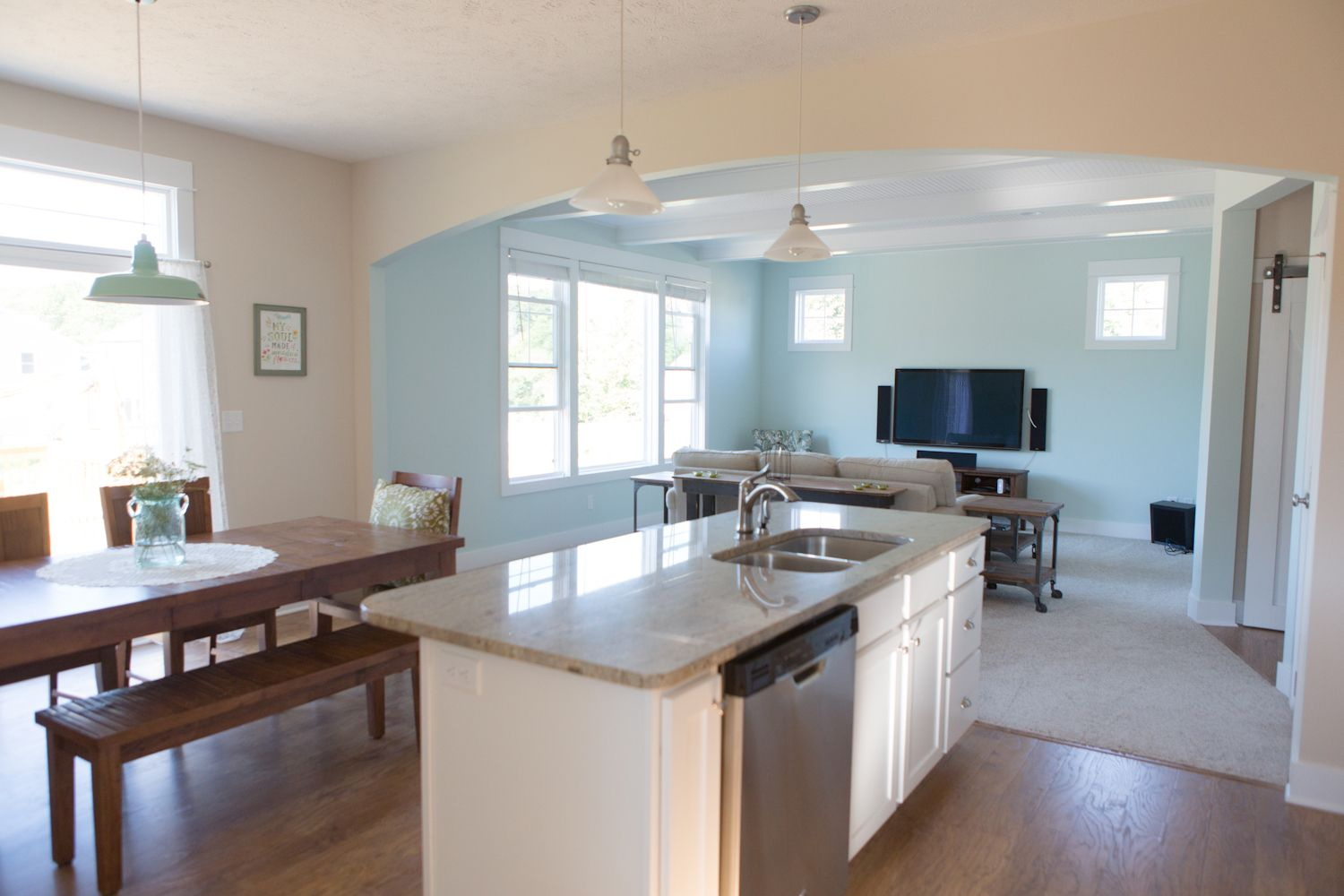 Open Concept Living | Stockton plan | Eastbrook Homes | Homes by ...