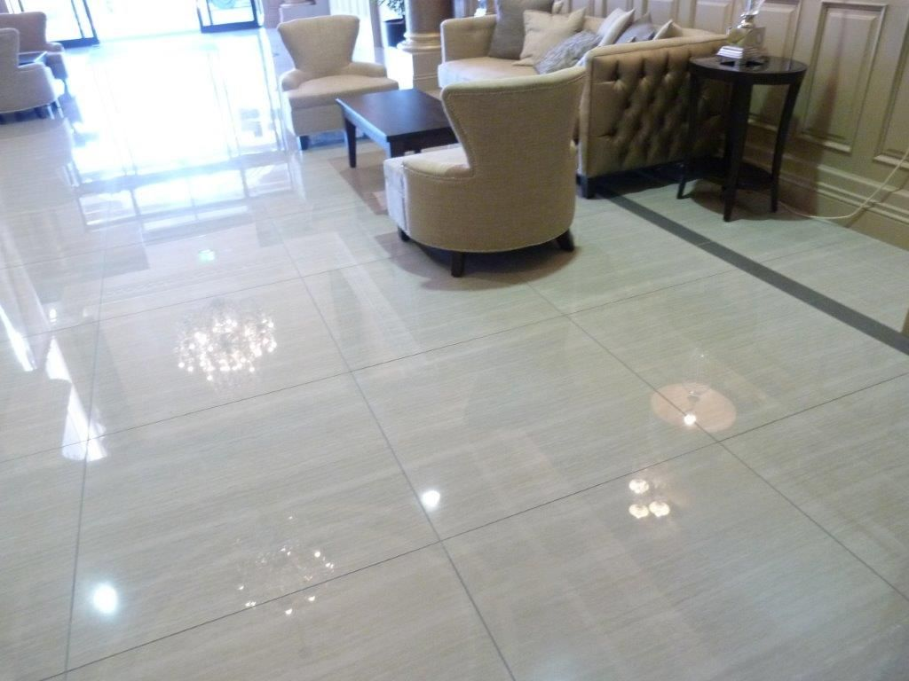 large format polished porcelain tiles and #waterjet produced