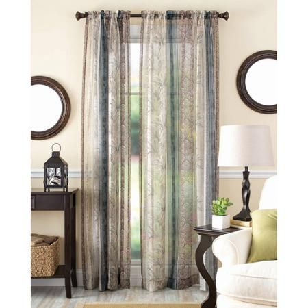 Home Striped Curtains Curtains Better Homes And Gardens
