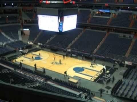 Verizon Center Transforms From Hockey Rink To Basketball Court Basketball Court Verizon Center Hockey Rink