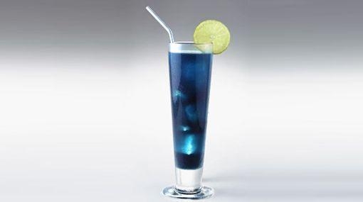 Blue Lagoon - Bebida con Vodka