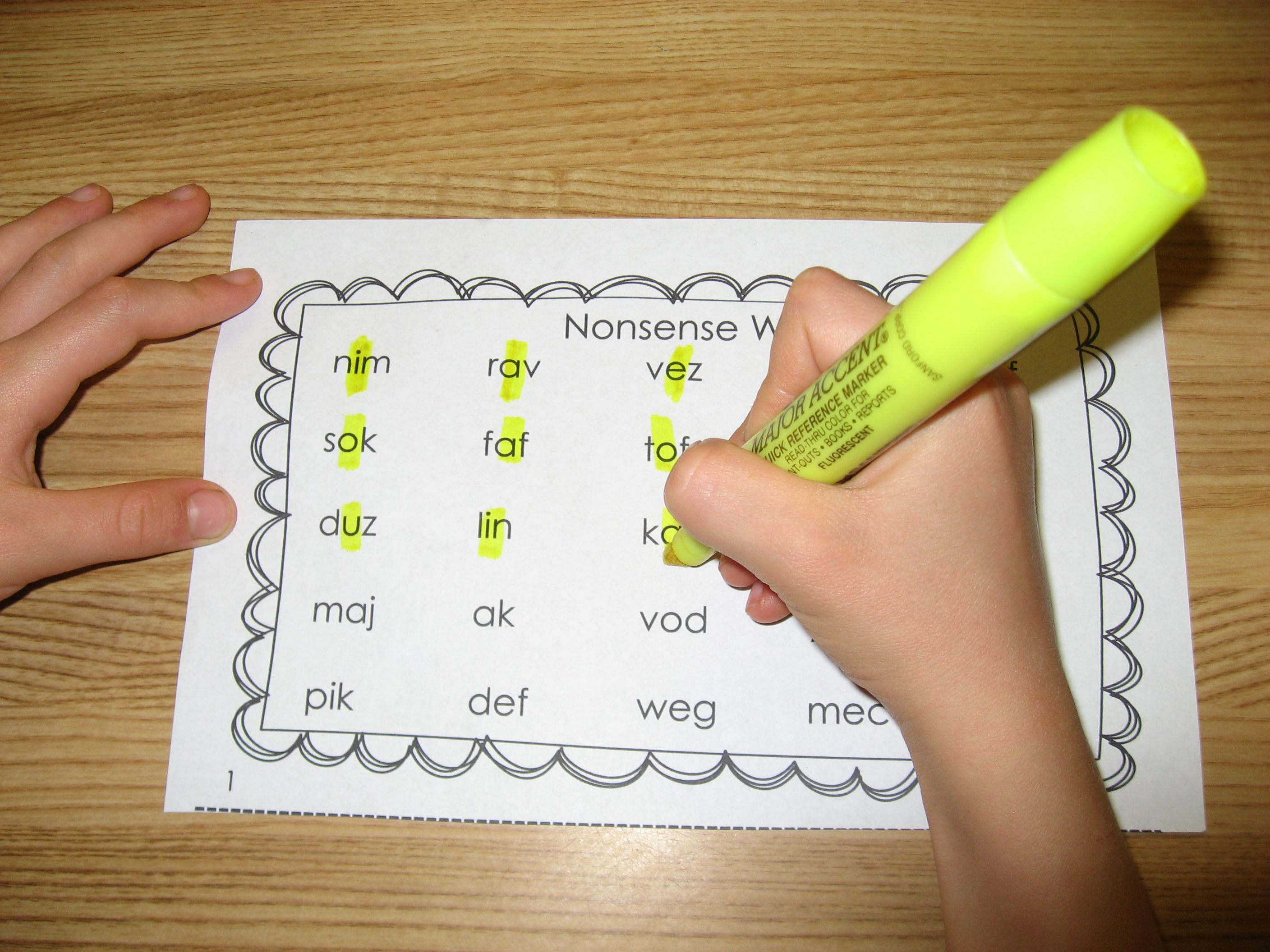 These Nonsense Word Practice Sheets Can Be Used In So Many