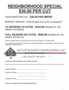 lawn care flyer - Google Search | My Stuff | Pinterest | Flyers ...