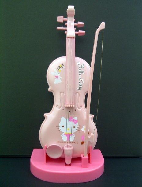 Hello Kitty Violin Club Jr. 2 Pink SANRIO JAPAN Toy New - NO SHIT!!