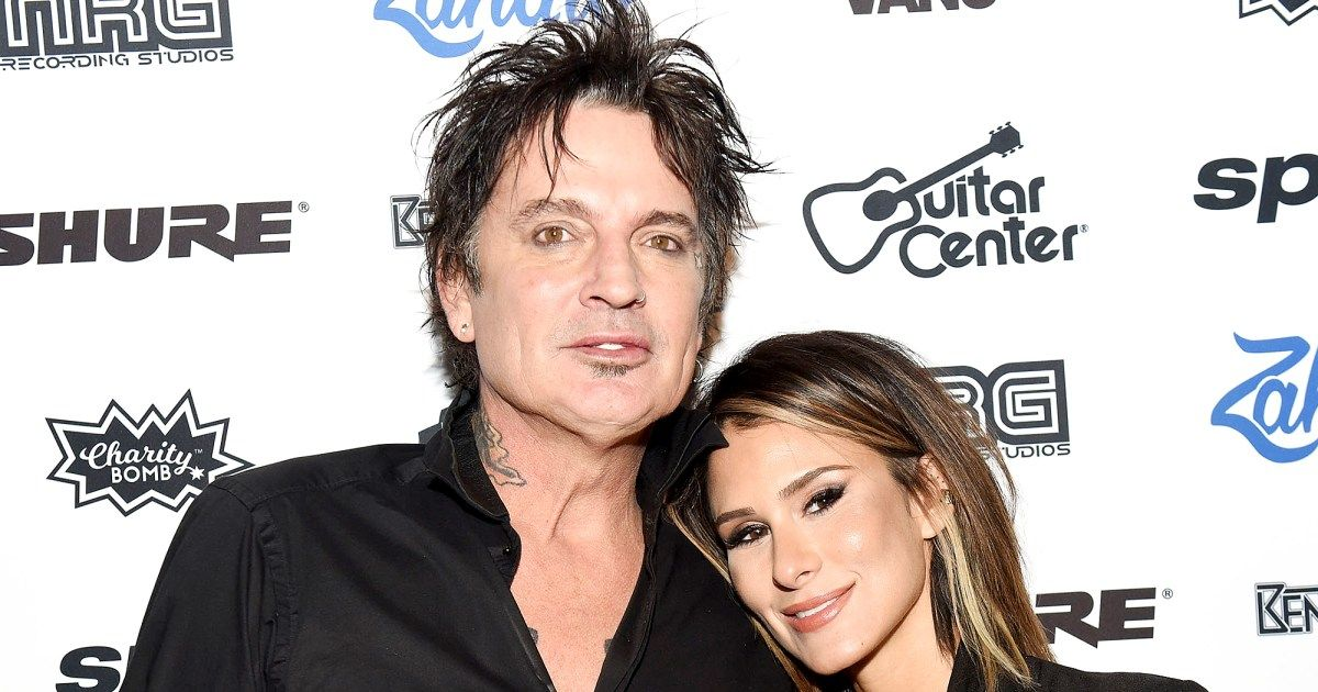 Motley Crue Drummer Tommy Lee Marries Brittany Furlan With Images