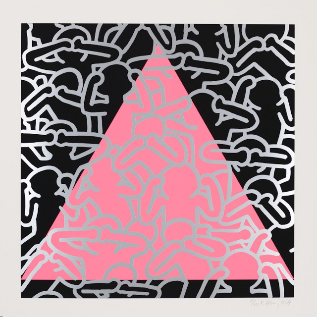 Homodesiribus Keith haring, Abstract prints, Abstract