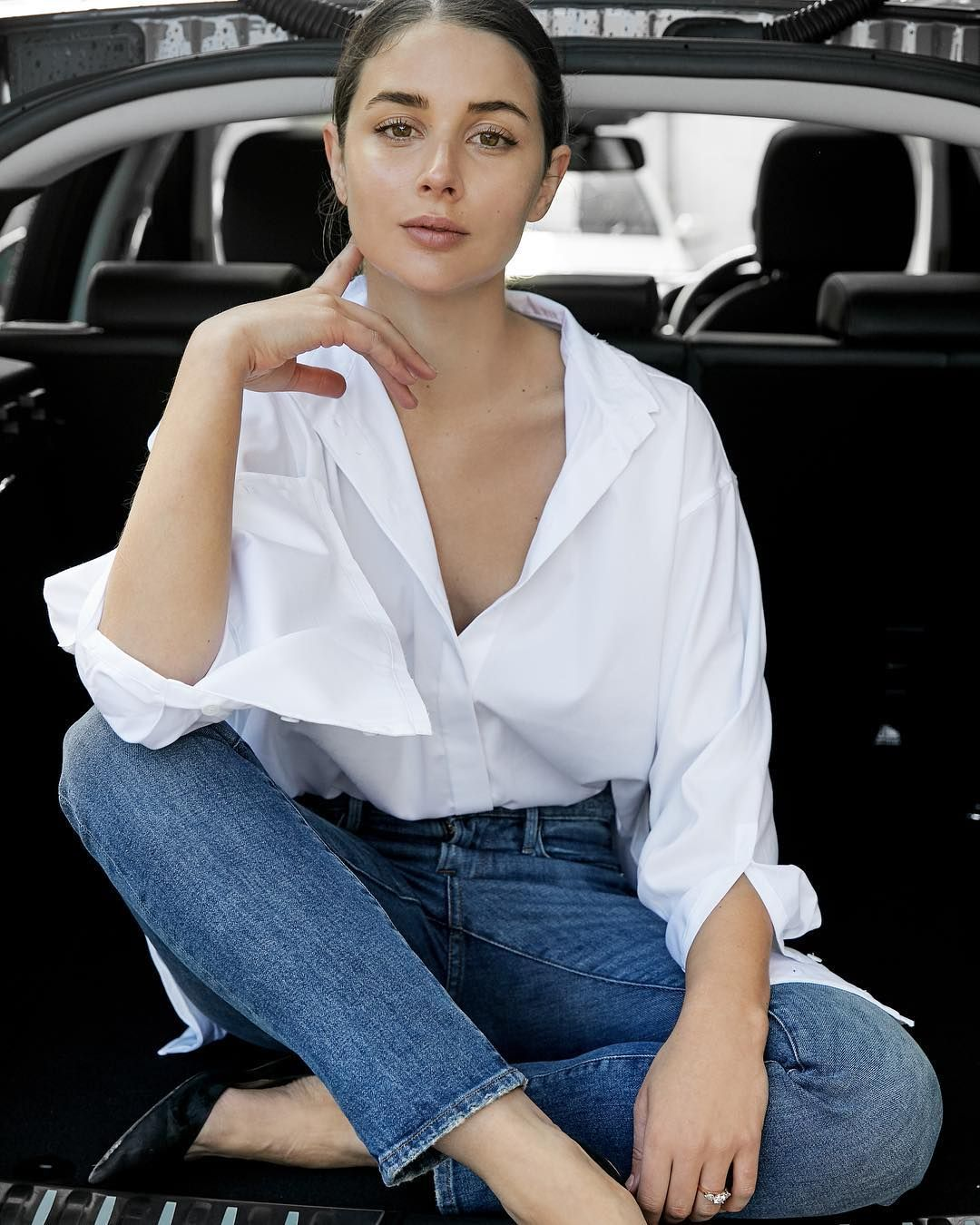 Pin by san on denim is the best pinterest white shirts crisp