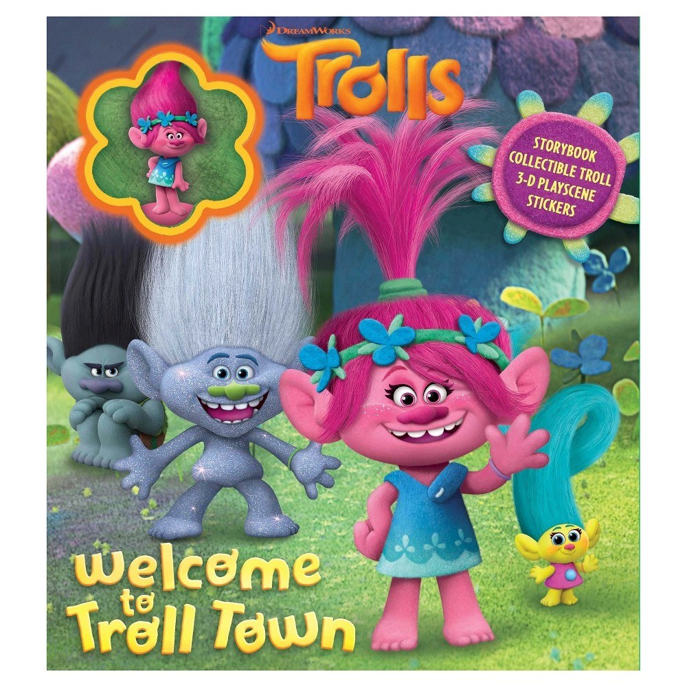 Dreamworks Trolls Welcome To Troll Town Storybook With