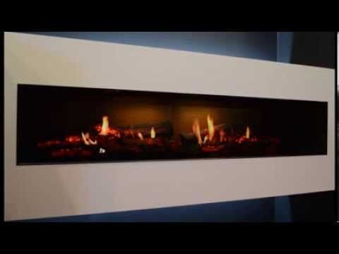 The Dimplex Opti V Is Part Of The All New Opti Virtual Series The Opti V Is The Most Realistic Electric Fireplace Electric Fireplace Electric Fires Fireplace