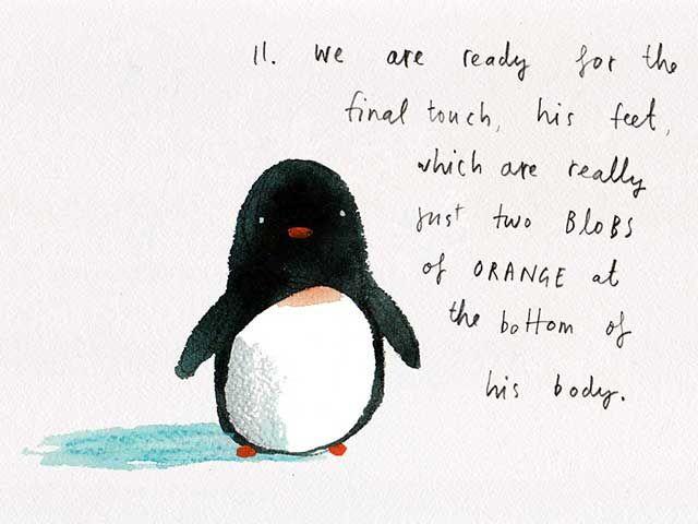 Pinguinos enamorados para dibujar - Imagui | fotografía | Pinterest ...