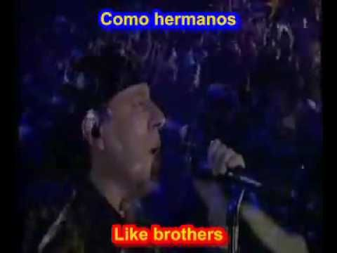 Scorpions Wind Of Change Subtitulado Español Ingles Español Ingles Canciones Videos Musicales