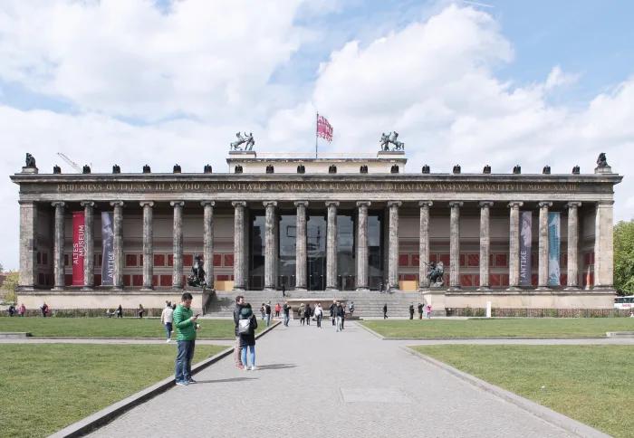 Karl Friedrich Schinkel Davide Apicella Altes Museum Museumsinsel Berlin Divisare En 2020