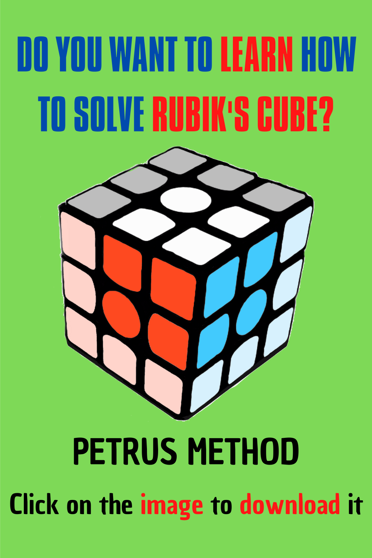 Rubik's Cube Tutorial in 2020 Rubiks cube, Cube solver
