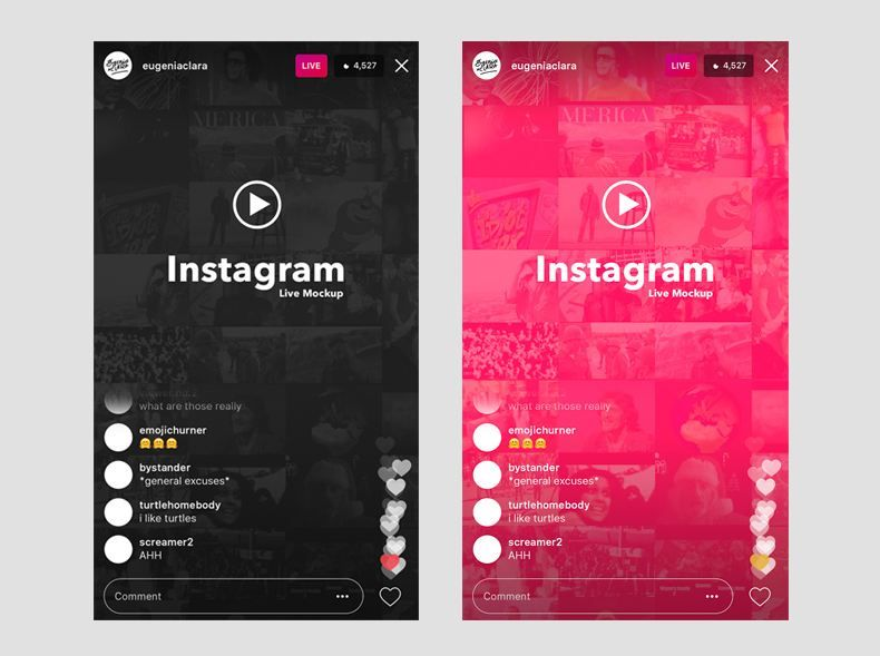17 Free Instagram Mockup Psd Template Of All Kinds Texty Cafe Instagram Mockup Instagram Template Design Instagram Live
