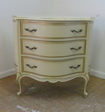 Lovely Vintage Drexel Bedroom Furniture Styles | French Carved Demi Lune Drexel  Touraine Bachelors Chest From Buggin74