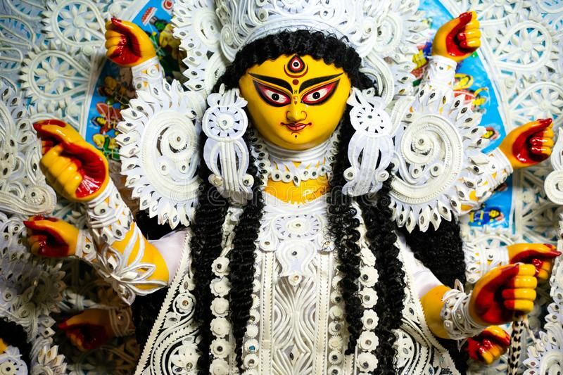 Durga Maa Portrait Photo About Devi Event Kolkata Holy Illustrator Durgapuja Beautiful Durga Holiday Banner Backgr Durga Maa Durga Images Durga Puja