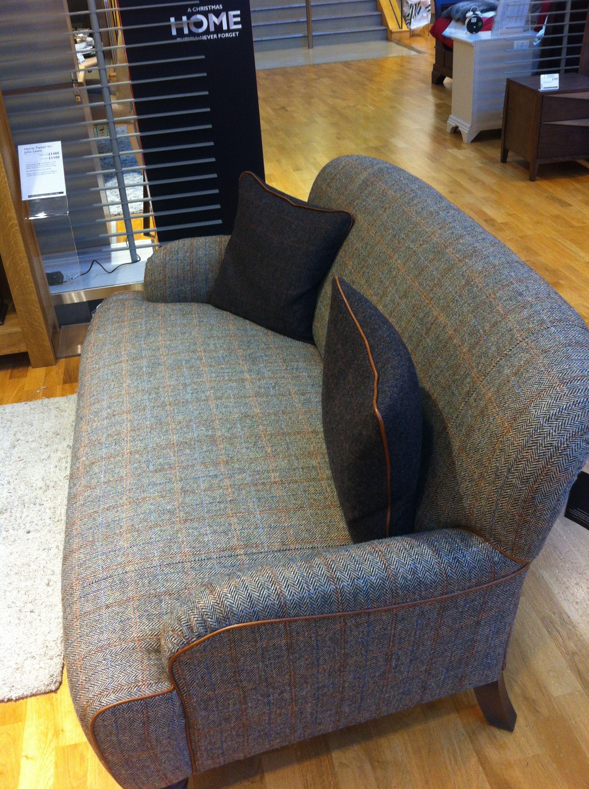 John Lewis Harris Tweed chair Patchwork chair, Cheap