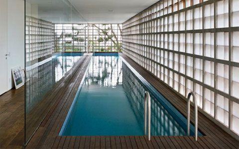 indoor home pool - Google Search