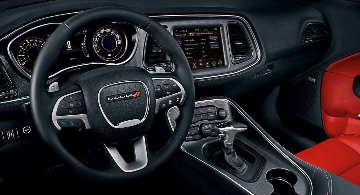 image result for 2017 dodge challenger interior | chrysler