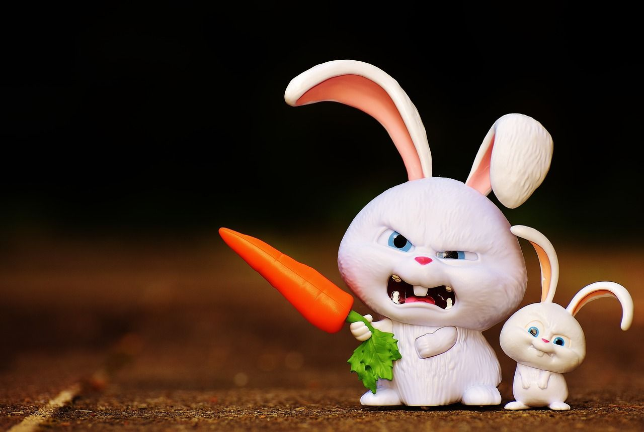 Free Image On Pixabay Hare Evil Snowball Cute Cartoon Wallpapers Rabbit Wallpaper Funny Iphone Wallpaper