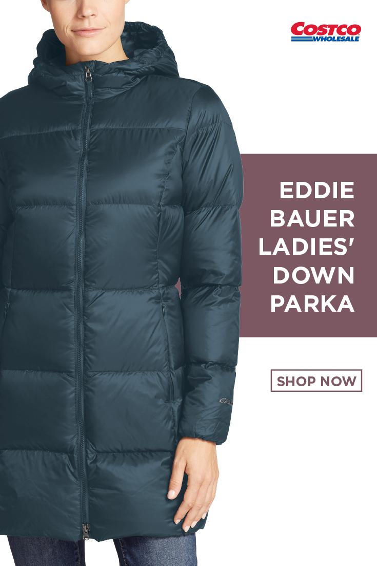 Eddie Bauer Ladies' Down Parka in 2020 Eddie bauer, Down