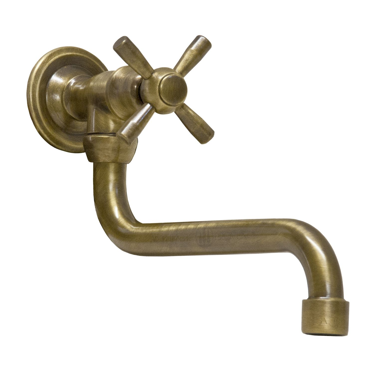 Leon Spigot With Simple Handle Authentic Provence In 2020 Wall Mount Faucet Fountain Simple