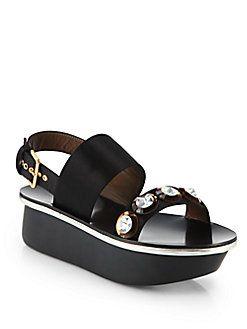 Jeweled Wedges Sandals Spring/summer Marni GIJ9w8En