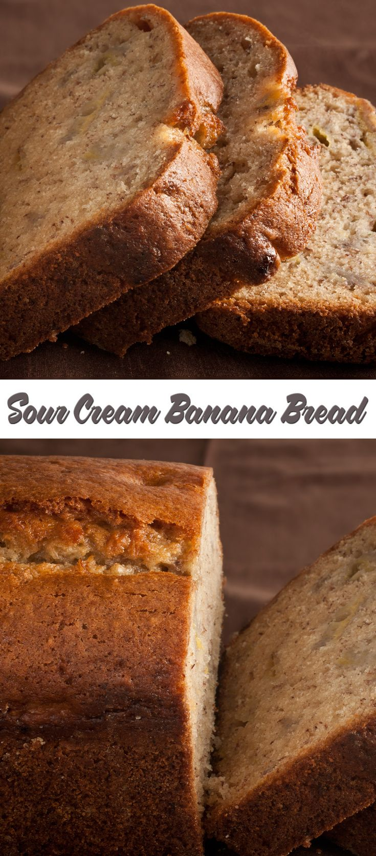 Sour Cream Banana Bread Recipe Sour Cream Banana Bread Banana Bread Recipes Banana Recipes