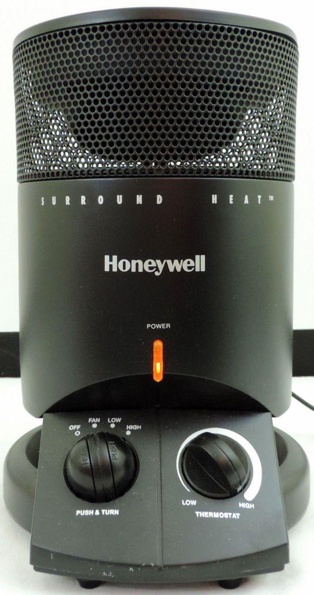 honeywell mini tower surround heater fan