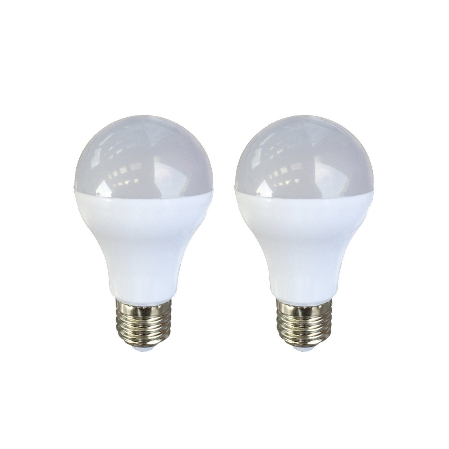 Lot De 2 Ampoules Standards Led 9w 806lm équiv 60w E27