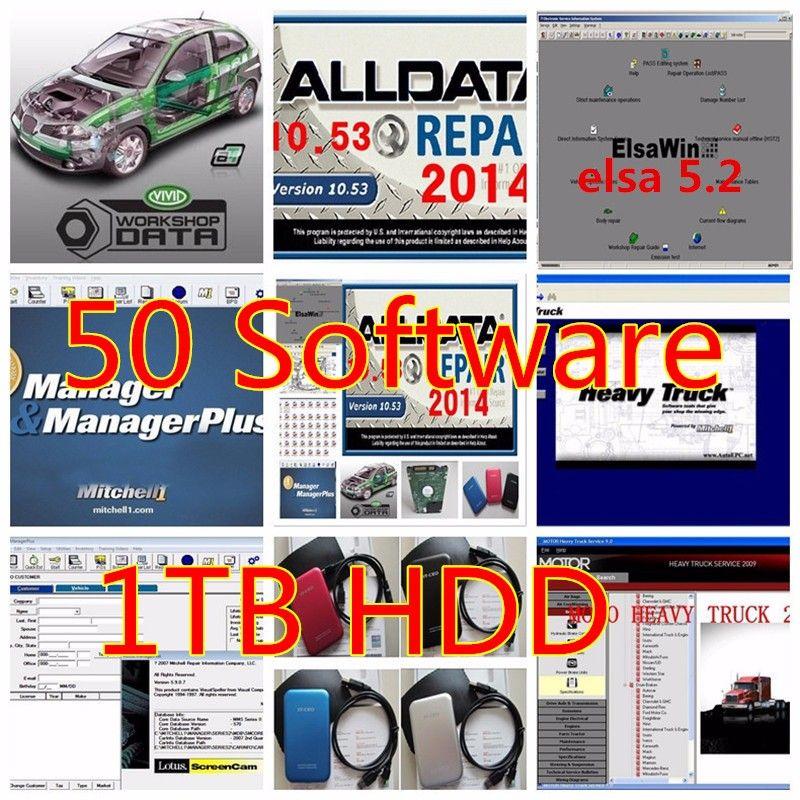 Auto Repair Software Alldata V10 53 All Data And Mitchell