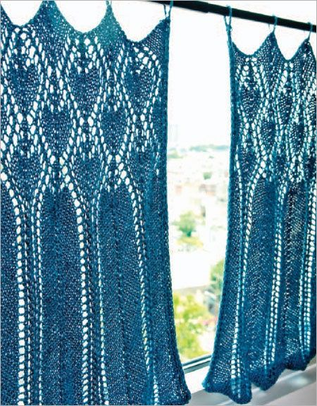 Liking The Hippie Curtains Lace Knitting Patterns