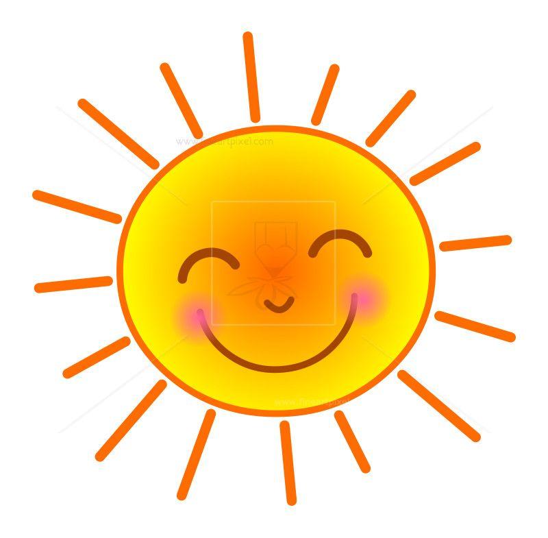 Happy Sun Clip Art Free Vectors Illustrations Graphics Clipart Png Downloads Sun Clip Art Happy Sun Clip Art