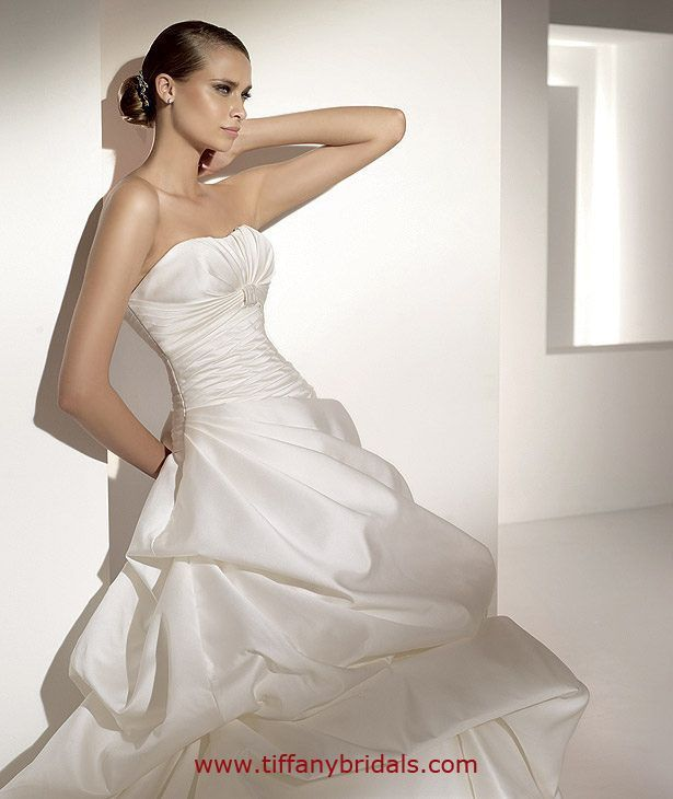 pronovias wedding dresses - style melania | pronovias wedding dresses